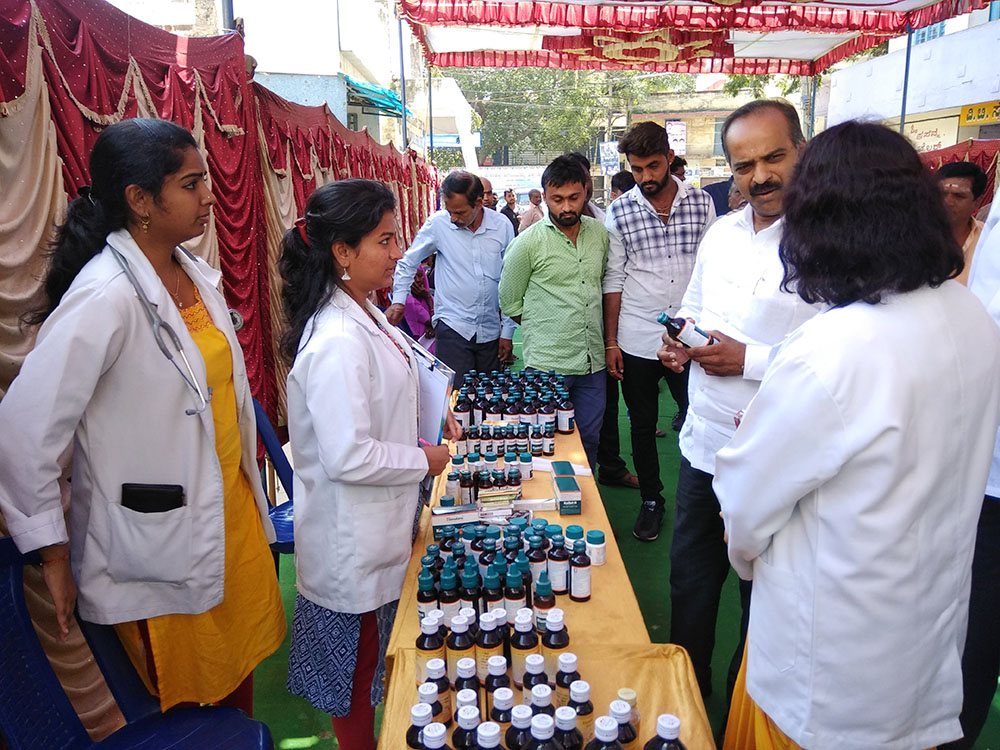 Ayurvedic Health Camp at Sarvagnanagar