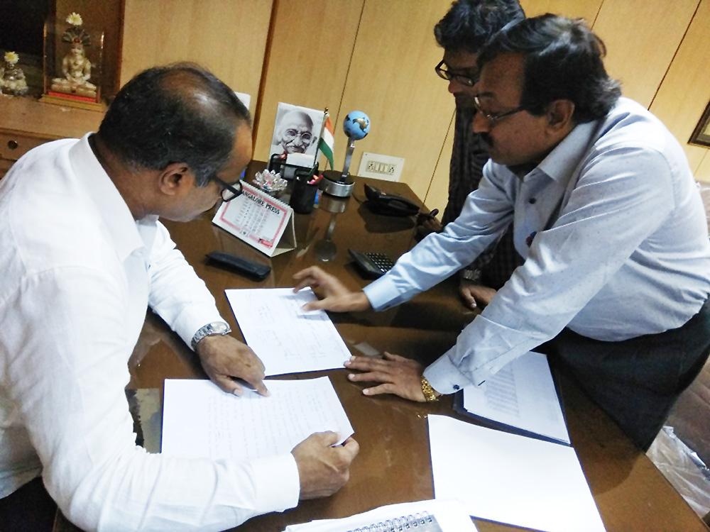 With Railway Activist