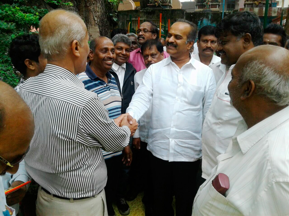 MPLAD works Inauguration at Okalipuram ward