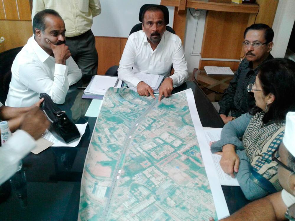 Meeting with MD Metro on Bellandur Skywalk